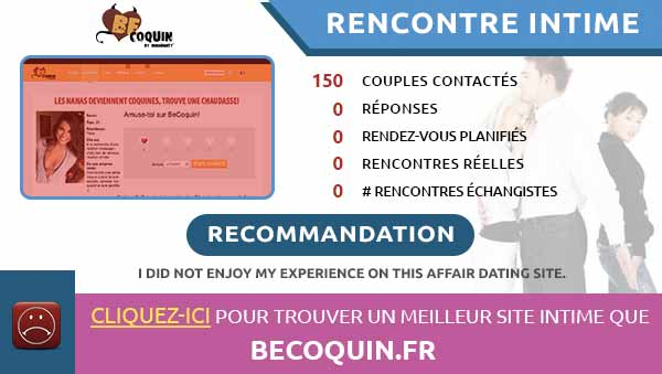 rencontres intimes sur BeCoquin