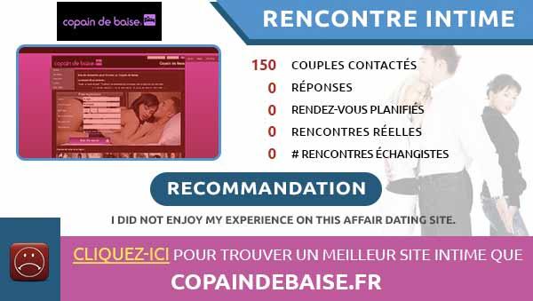 rencontres intimes sur CopainDeBaise
