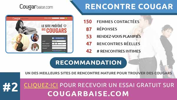 rencontres intimes sur CougarBaise