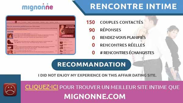 rencontres intimes sur Mignonne
